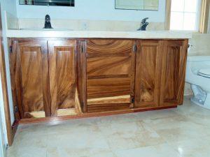 Robusta Eucalyptus Vanity Cabinets