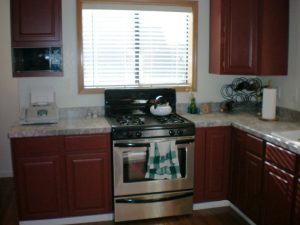 Painted Oak Cabinets View 3