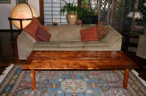 Koa Coffee Table View 3